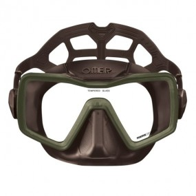 Apnea mask monolens brown silicone
