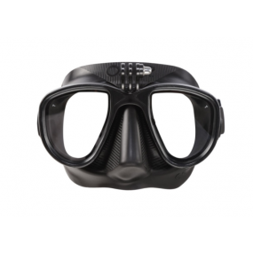 Black Alien mask with GoPro connection