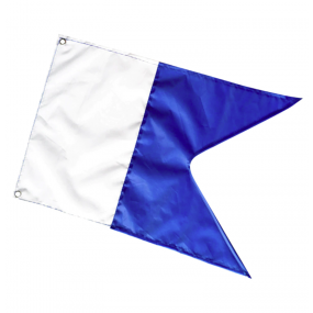 Spare blue flag for boat 40x33cm (Alpha)