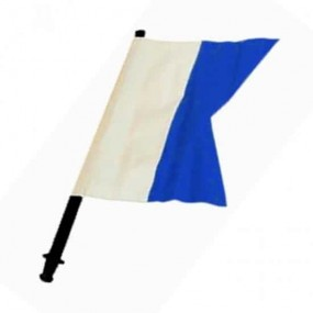 Spare blue flag for buoy (Alpha)