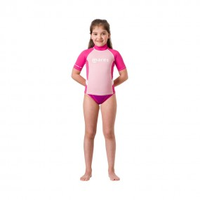 Rash Guard Junior Short Sleeve Girl