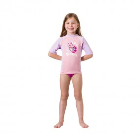 Rash Guard Kid Short Sleeve Girl
