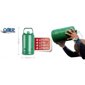 4 Liters Capacity Flask