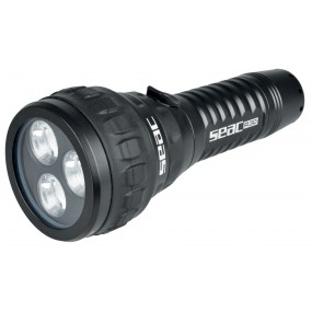 RECHARGEABLE TORCH R30 BLACK