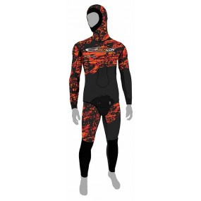 RED FUSION SKIN Jacket - 7mm