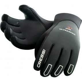 ULTRASPAN GLOVES BLACK 3.5mm