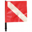 Spare red flag for buoy (Fox)