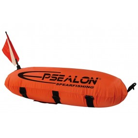 Torpedo buoy double bladder Orange