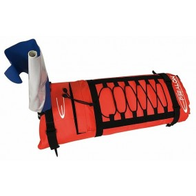 Flat board buoy double bladder Orange