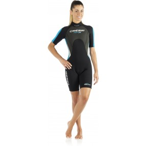 MED X LADY WETSUIT SHORTY 2.5 mm