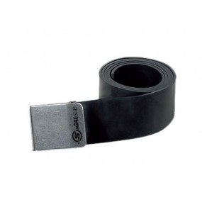 Rubber Belt With Inox Buckle