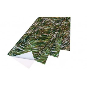 Camouflage  Seagreen Sticker 3D