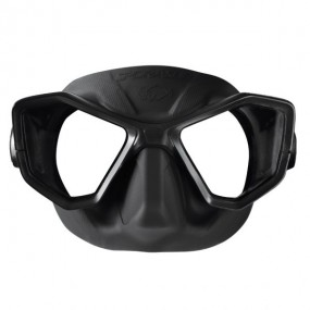 Butterfly mask black silicon