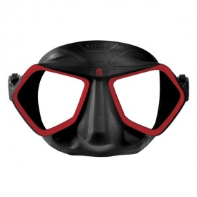 Wolf Mask Black & Red
