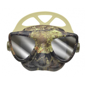 PLASMA mask camo green mirrored lenses