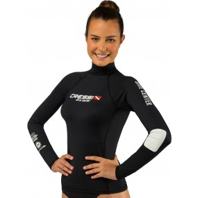 DIVE CENTER LADY RASH GUARD LONG