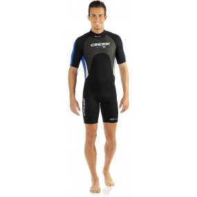 MED X MAN WETSUIT SHORTY 2.5 mm