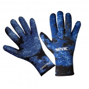 Gloves Anatomic Camo Blue 3.5 mm