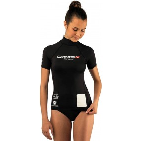 RASH GUARD SHORT SLEEVE WOMAN