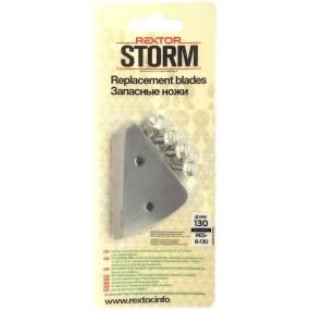SPARE BLADES REXTOR STORM 130mm